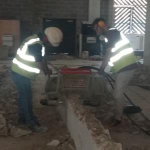 concrete crunching 2