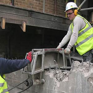 concrete crunching 4