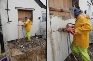 Cutting Window Opening – West Beach, Dungeness