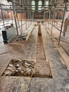 Floor Chasing – Tunbridge Wells Baptist Church