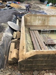 Diamond Track Sawing – Brenchley, Kent